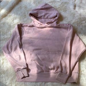 H&M Baby Pink Basic Hoodie